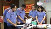 Đồng chí Trần Công Phàn thăm, chúc mừng Báo Bảo vệ pháp luật