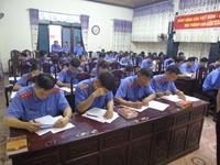 VKSND tỉnh Tuyên Quang thi viết Cáo trạng, Bài phát biểu vụ án dân sự