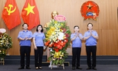 Viện trưởng Lê Minh Trí chúc mừng báo chí ngành Kiểm sát nhân dân