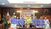 Đảng ủy, Công đoàn VKSND tối cao chúc mừng Báo Bảo vệ pháp luật