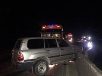 Xe biển xanh 80B gặp nạn với xe khách tại Quảng Bình
