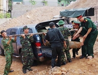 Phát hiện quả bom nặng gần 230kg ngay giữa trung tâm Hạ Long