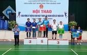 VKSND tỉnh Quảng Nam tổ chức Hội thao chào mừng kỷ niệm 60 năm ngày thành lập Ngành