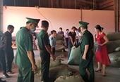 """Hơn 100 tấn dược liệu từ Trung Quốc """"đội lốt"""" củ quả để nhập vào Việt Nam"""