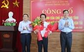 Nhân sự mới tỉnh Quảng Trị, Nghệ An