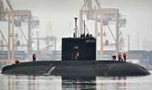 """Tàu ngầm """"Hố đen"""" Nga đã đến Địa Trung Hải"""