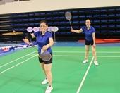 """Hai """"bóng hồng"""" Kiểm sát Quảng Ninh đam mê thể thao"""