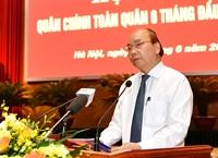 Thủ tướng dự Hội nghị Quân chính toàn quân 6 tháng đầu năm 2020