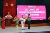 Phó Giám đốc CA Thừa Thiên-Huế làm Giám đốc CA Quảng Trị