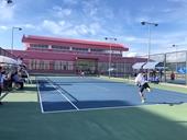 Màn so tài không cân sức giữa các cặp đấu đơn nam quần vợt