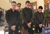 Chém người, 3 thanh niên lãnh án gần 28 năm tù