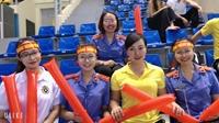 Sự cuồng nhiệt của cổ động viên Giải thể thao ngành KSND