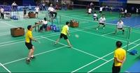 CLIP Những trận cầu lông rực lửa tại giải thể thao ngành KSND năm 2020