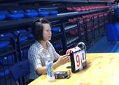 Nữ trọng tài tại Giải thể thao ngành Kiểm sát nhân dân