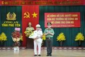 Phó giám đốc Công an Gia Lai được bổ nhiệm Giám đốc Công an Phú Yên