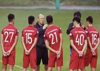HLV Park Hang Seo gọi 28 cầu thủ chuẩn bị cho SEA Games 2021