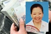 Cảnh sát truy tìm người phụ nữ nghi chiếm đoạt gần 3,5 tỉ đồng