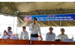EVNSPC tổ chức diễn tập phòng chống thiên tai và tìm kiếm cứu nạn năm 2020