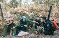Cuộc đối đầu khốc liệt với giặc Hỏa cứu rừng ở Hà Tĩnh