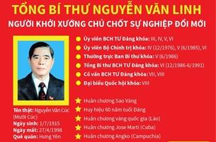 Tổng Bí thư Nguyễn Văn Linh Người khởi xướng đổi mới
