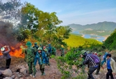 Trắng đêm cứu rừng ở chảo lửa miền Trung