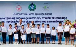 """""""Nước sạch học đường"""" đến với giáo viên, học sinh huyện Bắc Bình, tỉnh Bình Thuận"""