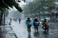 Mưa dông khắp cả nước, đề phòng mưa đá và gió giật mạnh
