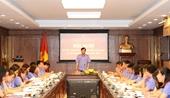 Vụ 14-VKSND tối cao, VKSND tỉnh Nghệ An sơ kết công tác 6 tháng đầu năm
