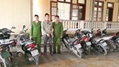 Công an Hương Sơn bắt nhóm đối tượng chuyên đột nhập nhà dân liên huyện, liên tỉnh