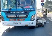 Xe khách nhà xe Hòa Hiệp tông chết nữ công nhân khi qua thị trấn Dầu Giây