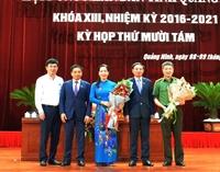 Cựu nhà báo được bầu làm Phó Chủ tịch tỉnh Quảng Ninh
