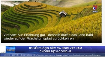 Truyền thông Đức ca ngợi Việt Nam chống dịch COVID-19