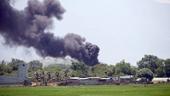 Cháy lớn bên trong Sân bay quân sự Thành Sơn