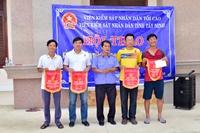 VKSND tỉnh Tây Ninh tổ chức giải thể thao chào mừng 60 năm thành lập Ngành