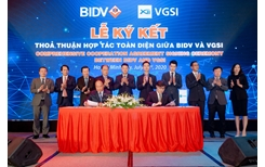 BIDV và VGSI ký kết thỏa thuận hợp tác toàn diện