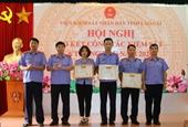VKSND tỉnh Lào Cai thực hiện tốt các yêu cầu, nhiệm vụ công tác