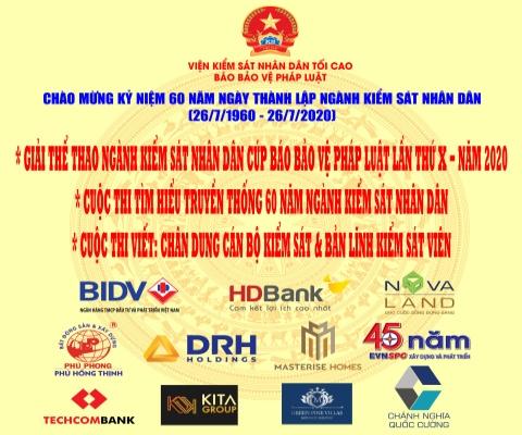 TAI TRO GIAI THE THAO NGANH KSND 2020