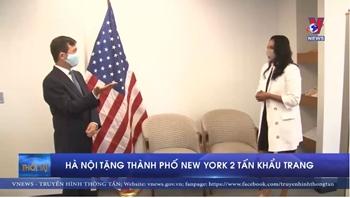 Việt Nam tặng Mỹ 2 tấn khẩu trang