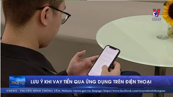 Lưu ý khi vay tiền qua ứng dụng điện thoại