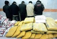 Iran bắt giữ lượng ma túy khủng gần biên giới Afghanistan