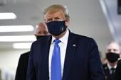 Tổng thống Trump đã chấp nhận đeo khẩu trang