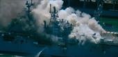 Cháy lớn trên tàu tấn công đổ bộ USS Bonhomme Richard của Hải quân Mỹ