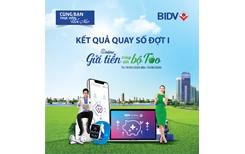 """BIDV công bố kết quả trúng thưởng chương trình """"Online gửi tiền, trúng liền bộ Táo"""""""