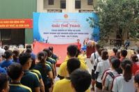 VKSND tỉnh Nghệ An Giải thể thao chào mừng kỷ niệm 60 năm thành lập ngành KSND