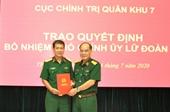 Bộ Công an, Bộ Tư lệnh Quân khu 7 bổ nhiệm nhân sự mới