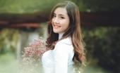Hot girl ĐH Kiểm sát Hà Nội khoe sắc trong tà áo dài tinh khôi