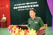 VKS Quân sự 42 Tuyên truyền giáo dục pháp luật cho hơn 500 lượt quân nhân