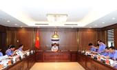 Viện trưởng Lê Minh Trí làm việc với các đơn vị liên quan về chuẩn bị Lễ kỷ niệm thành lập Ngành