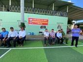 VKSND huyện Gò Công Đông tổ chức giải bóng đá mini kỷ niệm 60 thành lập Ngành