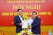 Bí thư Tỉnh ủy Phú Yên giữ chức Phó Bí thư Đảng ủy Khối các cơ quan TW